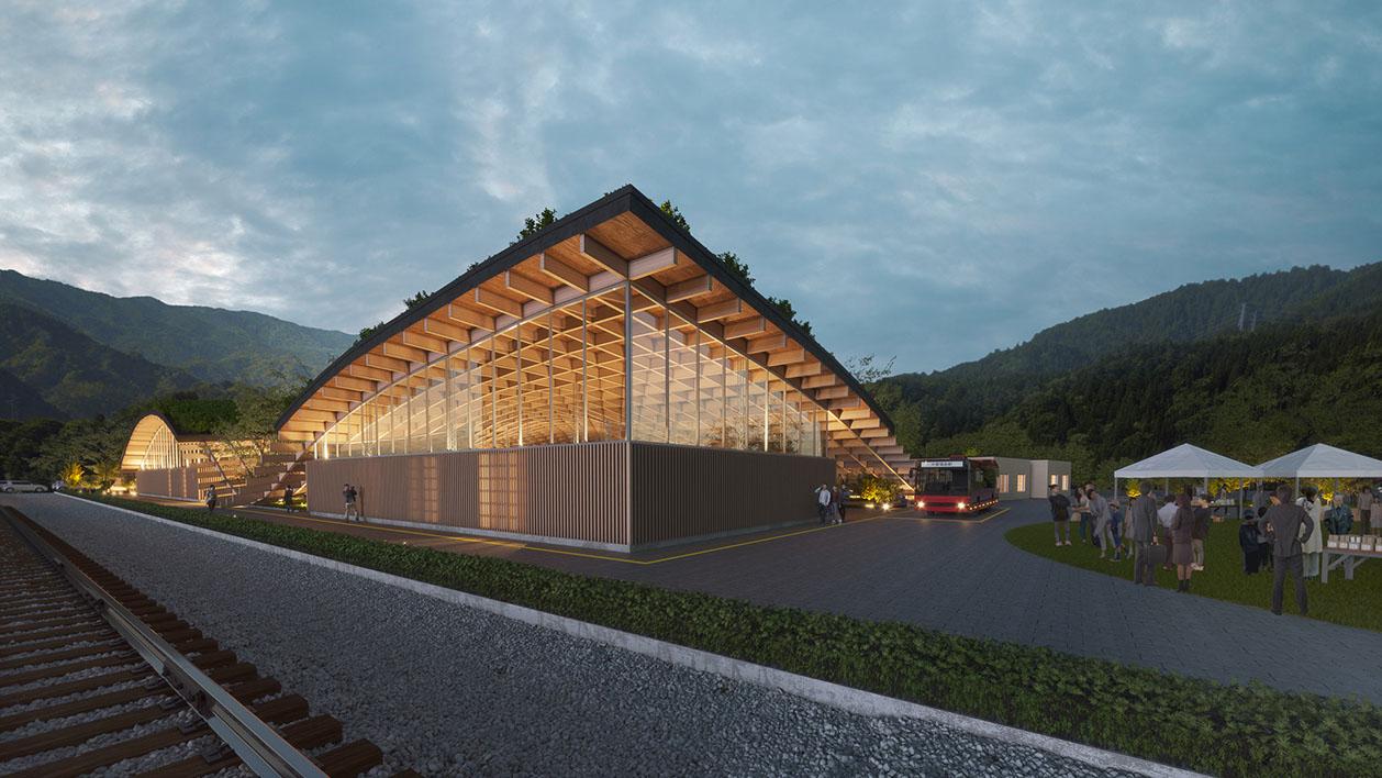 新庁舎エクステリア
