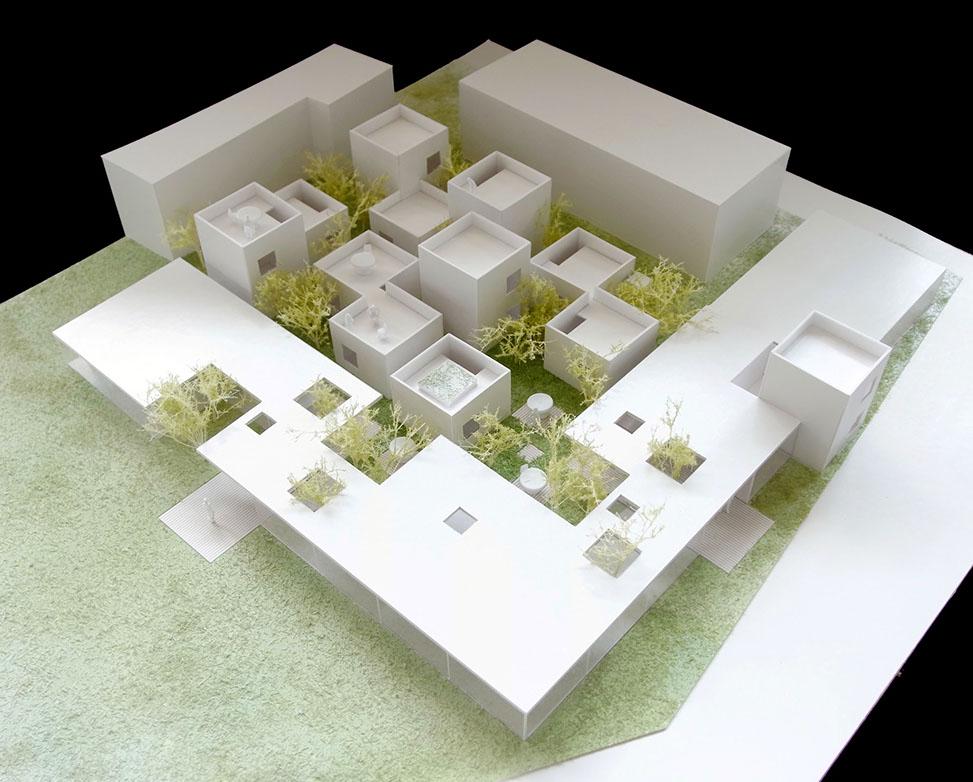 下町のような児童養護施設   on2 Architects