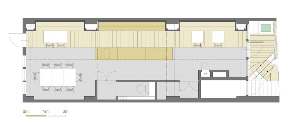 coffee house layout