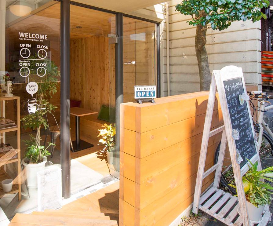 semi-underground cafe